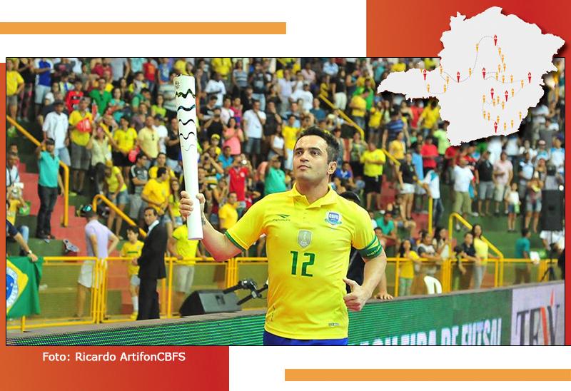 Passagem da Tocha Olímpica por Minas Gerais é marcada por momentos inesquecíveis 22