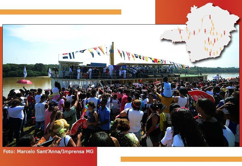 Passagem da Tocha Olímpica por Minas Gerais é marcada por momentos inesquecíveis 23