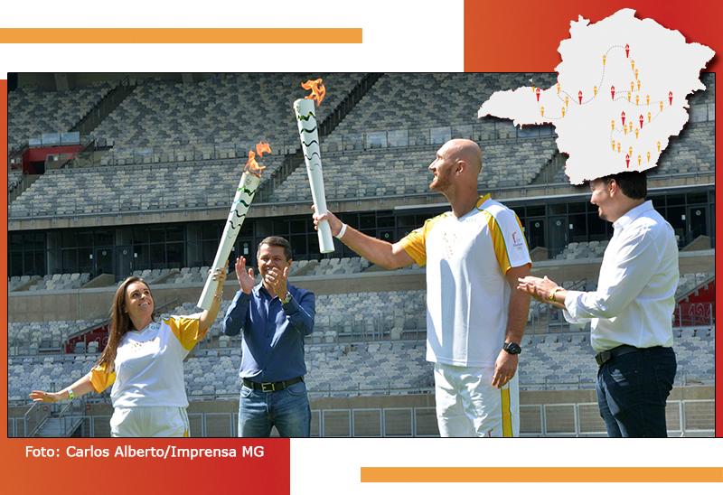 Passagem da Tocha Olímpica por Minas Gerais é marcada por momentos inesquecíveis 28
