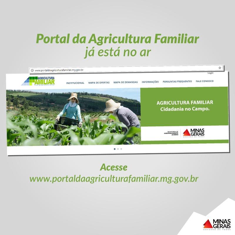 Emater-MG completa 68 anos e lança o portal da Agricultura Familiar 1