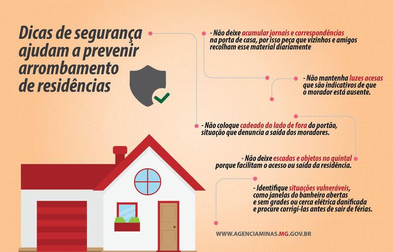Dicas de segurança ajudam a prevenir arrombamento de residências 1