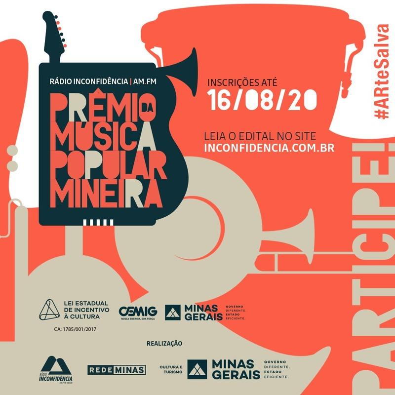 Prêmio da Música Popular Mineira tem inscrições abertas; R$ 63 mil estão previstos para os premiados 1